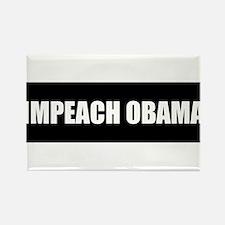 Impeach Obama Rectangle Magnet