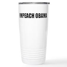 Impeach Obama Travel Mug