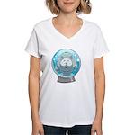 Melanoma Uncle Women's Plus Size V-Neck T-Shirt
