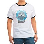 Melanoma Uncle Women's V-Neck Dark T-Shirt