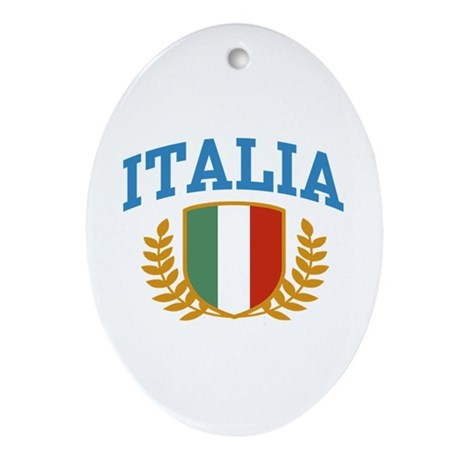 Italia Oval Ornament
