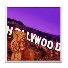 whatiswonderfalls Hollywood tile coaster
