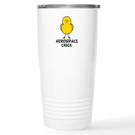 Aerospace Chick Stainless Steel Travel Mug