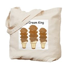 Unique Ice cream cone Tote Bag
