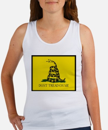 """Don't Tread On Me!"" Women's Tank Top"