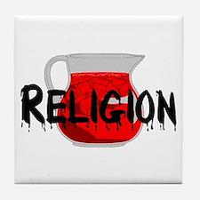 Brainwashing Drink Tile Coaster