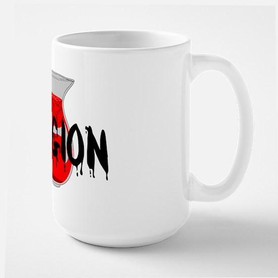 Brainwashing Drink Large Mug