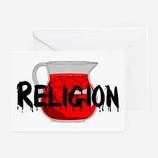 Brainwashing Drink Greeting Card