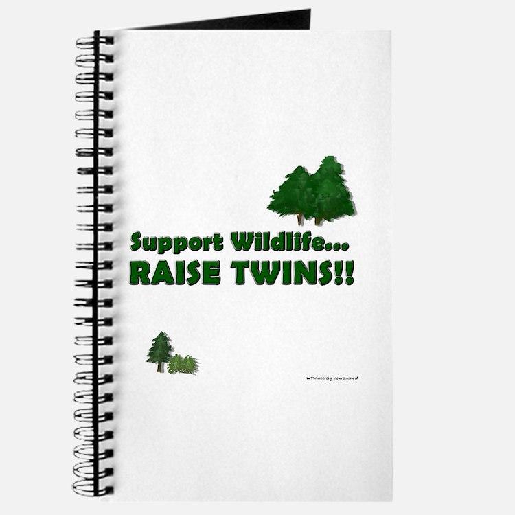 Support Wildlife - Twins Journal