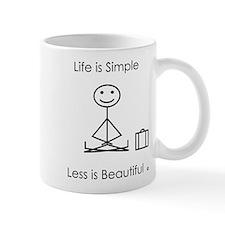 Life Is Simple Mugs