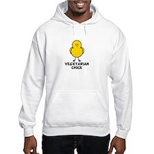 Vegetarian Chick Hoodie
