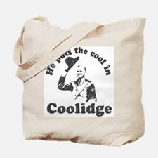 Calvin Coolidge Tote Bag
