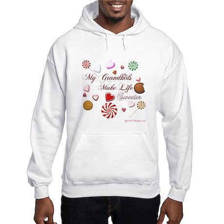 My Grandkids Make Life Sweeter Hooded Sweatshirt