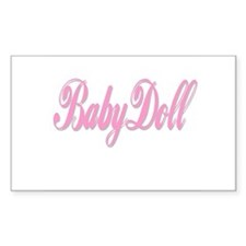 BabyDoll Rectangle Decal
