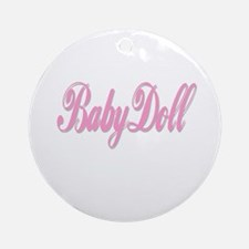 BabyDoll Ornament (Round)