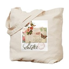 Cute Christian women Tote Bag