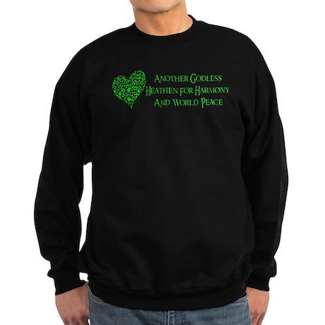 Godless For World Peace Sweatshirt (dark)