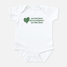 Godless For World Peace Infant Bodysuit