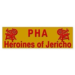 Heroines of Jericho Bumper Sticker