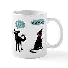 Woof Bark Arf Wooo Mug