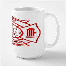 Code4 Tshirts Large Maltese Fire Department Mug