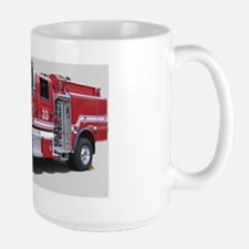 Code4 Tshirts Fire Dept. Brush Truck Mug