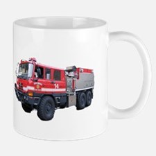 Code4 Tshirts Fire Wildland Brush Truck Mug