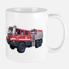 Code4 Tshirts Fire Deparment Brush Trucks Mug