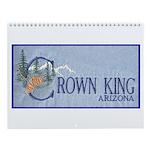 Crown King Wall Calendar