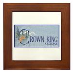 Crown King Framed Tile