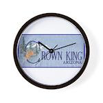 Crown King Wall Clock