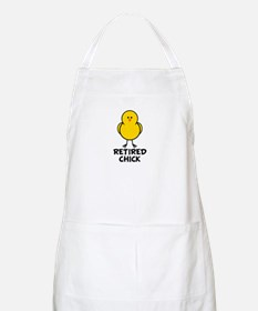 Retired Chick BBQ Apron