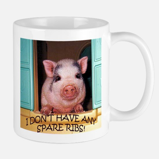 NO SPARE RIBS Mug