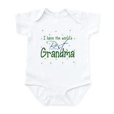 I have the World's Best Grandma Infant Bodysuit