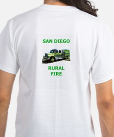 San Diego Rural Fire Truck Shirt
