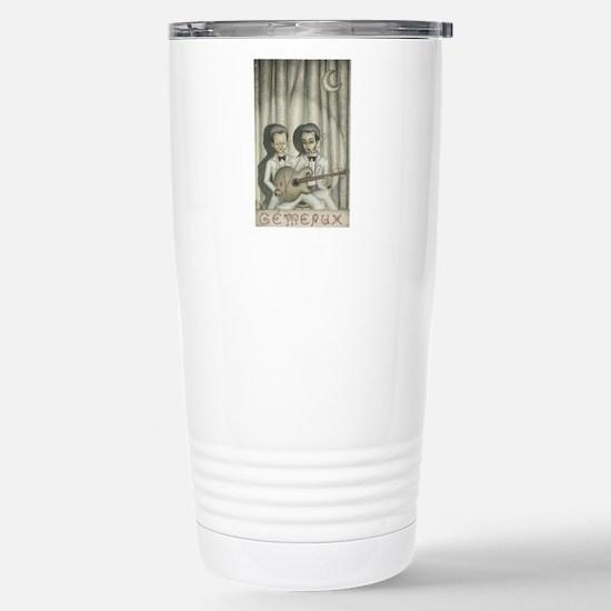 Gemini Stainless Steel Travel Mug