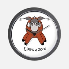 Red river hog Wall Clock