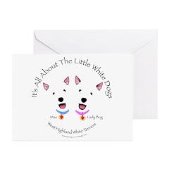 Custom - Max & Lady Bug Greeting Cards (Pk of 20)