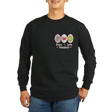 Peace Love Paintball T