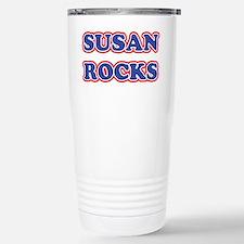 Susan Rocks Stainless Steel Travel Mug