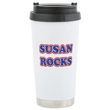 Susan Rocks Travel Mug