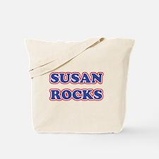 Susan Rocks Tote Bag