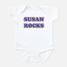 Susan Rocks Infant Bodysuit