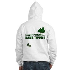 Support Wildlife - Twins Jumper Hoody