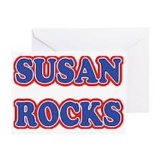 Susan Rocks Greeting Cards (Pk of 20)