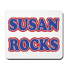 Susan Rocks Mousepad