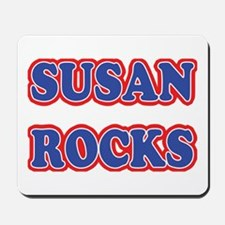 Susan Rocks Mousepad