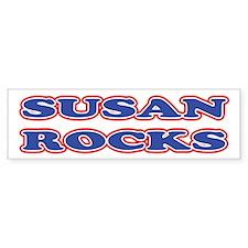 Susan Rocks Bumper Bumper Sticker