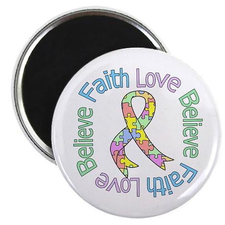 Autism FaithLoveBelieve Magnet