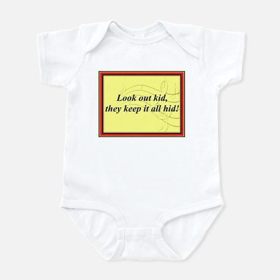 """Look Out Kid"" Infant Bodysuit"